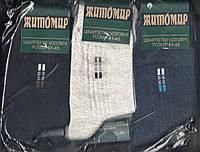 Носки мужские х/б с сеткой и лайкрой Житомир Дукат, Украина, ассорти, сигаретка, 41-45 размер, 070