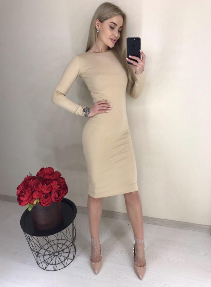 """Платье  """"Классика midi"""" р.42,44,46"""