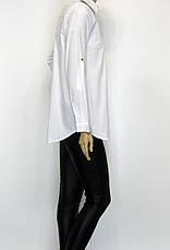 Жіноча сорочка штапель з вишивкою із паєток, фото 2