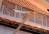 Библия средний формат, кожаная, фото 7