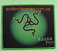 "Коврик ""RAZER small"", для компьютерной мышки, размер 20х24 см"