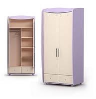Шкаф двухдверный Si-02-1 детская мебель.