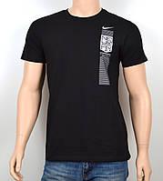 "Мужская футболка ""NIKE-19N03"" черный, фото 1"