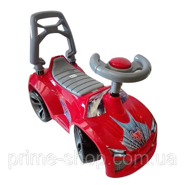 Машинка для катания ЛАМБО Красная, ТМ Орион