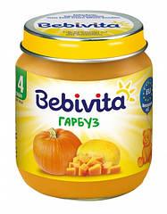 Овощное пюре Тыква, 125 г  с 4 месяцев Bebivita(Бебивита)