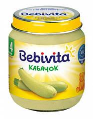 Овощное пюре Кабачок 125 г  с 4 месяцев Bebivita(Бебивита)