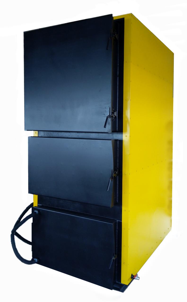 Котел твердотопливный жаротрубный 600 кВт