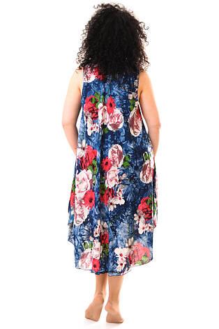 Женское летнее платье 1231-6, фото 2