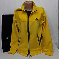 Женский спортивный костюм Соккер, Soccer,  жёлтый/чёрный.