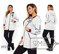 Портивный костюм женский с удлиненной кофтой ТЖ/-035