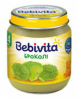 Овощное пюре Брокколи 125 г  с 4 месяцев Bebivita(Бебивита)