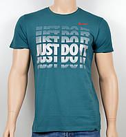 "Мужская футболка ""NIKE-19N04"" зеленый 17, фото 1"
