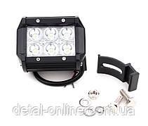 Дополнительная LED фара  DK B2-18W-C-LED  18W(ДК)