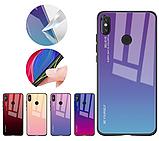 Чохол-накладка HELLO TPU + Gradient для Xiaomi Redmi Note 7 / Note Pro / скла /, фото 3