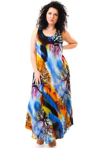Женское летнее платье 1232-1, фото 2