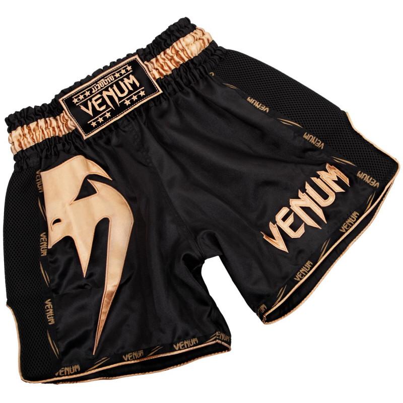Тайские шорты VENUM GIANT black/gold M