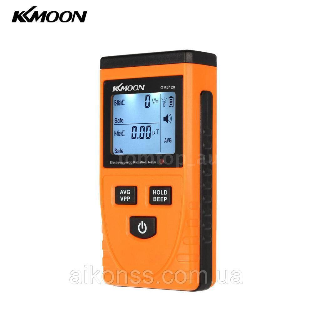 Дозиметр цифровой Тестер электромагнитного излучения KKmoon GM3120  ЖК-дисплей LCD