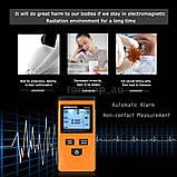 Дозиметр цифровой Тестер электромагнитного излучения KKmoon GM3120  ЖК-дисплей LCD, фото 5