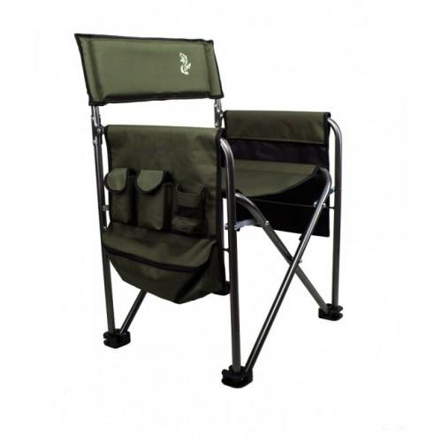 Кресло карповое M-Elektrostatyk F6K с подлокотниками