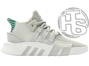 Мужские кроссовки Adidas EQT Basketball Adv Grey One/Sub Green CQ2995