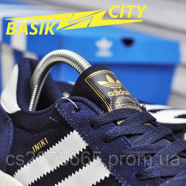 Мужские кроссовки Adidas Iniki Deep Blue изображение