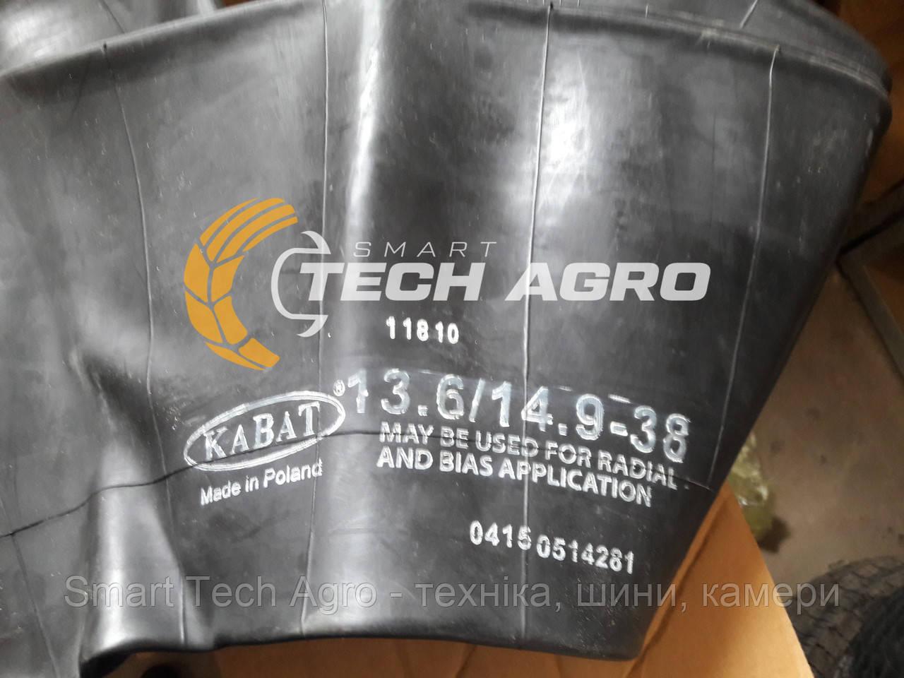 Камера  13.6 38 TR-218A Kabat для трактора Т 40, МТЗ 80, Білорус, камера 38