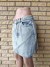 Юбка  женская джинсовая коттоновая AROX, Турция, фото 2