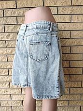 Юбка  женская джинсовая коттоновая AROX, Турция, фото 3
