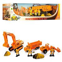 Детский набор машинок ( металл, инерционные) Строительная техника,PT 2023