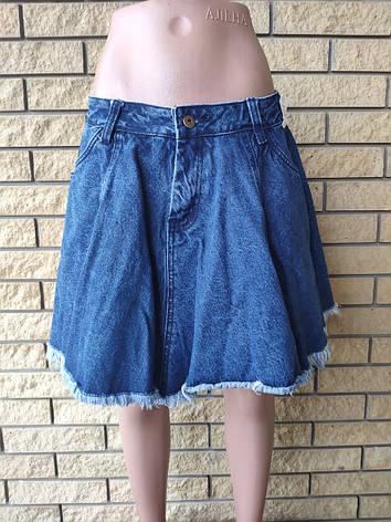 Юбка  женская джинсовая коттоновая DRIFK, Турция, фото 2
