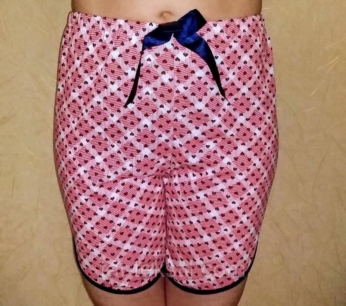 Женские цветные шорты хлопок Турция M,L,XL (48-52р)