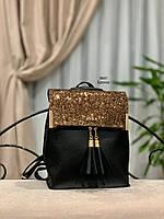 Стильный рюкзак Глиттер,кожзам, фото 10