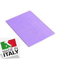 Стоматологические нагрудники салфетки ASA DENTAL (Италия) - 500 шт/уп, лаванда