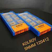 SNMM 120412 GH NC 3220 KORLOY Оригинал пластина твердосплавная квадрат
