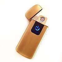 Зажигалка USB сенсорная электроимпульсовая,спиральная., фото 1