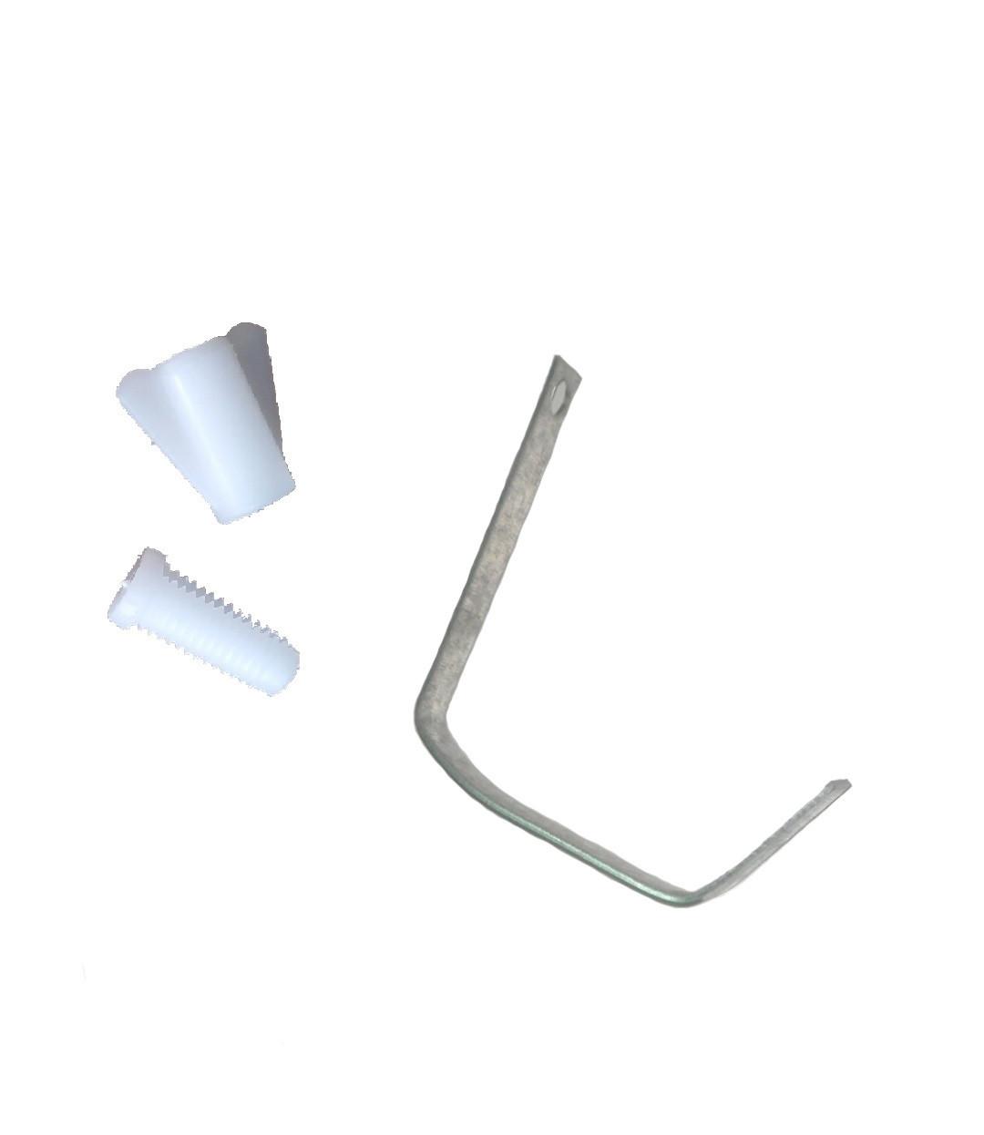 Крючок с крепежом на пластиковую кормушку.