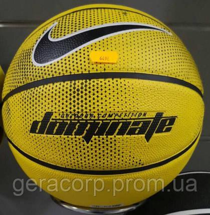 41899568 Мяч баскетбол Nike Dominate AMARILLO/BLACK/WHITE/BLACK size 7 ...