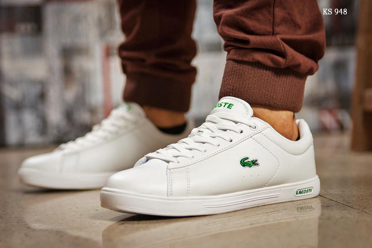 Мужские кроссовки Lacoste Sport (белые)