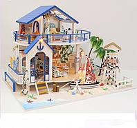 Домик для кукол в миниатюре DIY DOLLHOUSE