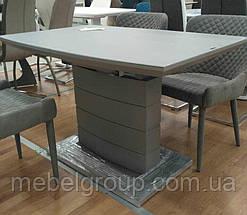 Стол ТММ-50-1 матовый серый 120/160x80, фото 2