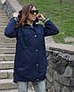 Женская ветровка из ткани коттон  рр 46-56, фото 3