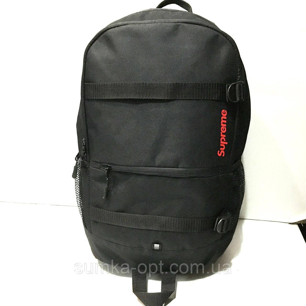 1075cc96a8e6 Рюкзаки спортивные текстиль Supreme (черный+красный)31*47см: продажа ...