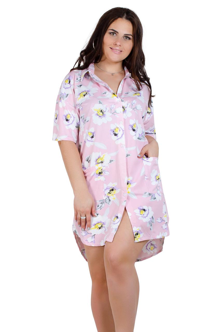 Рубашка женская 19015-1