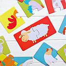 """Пазл """"Улюблені тваринки"""". Розвиваюча дітяча гра Dodo, фото 2"""