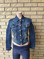 Куртка женская джинсовая стрейчевая короткая  AROX, Турция