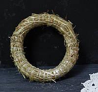 Венок из соломы 20 см, фото 1