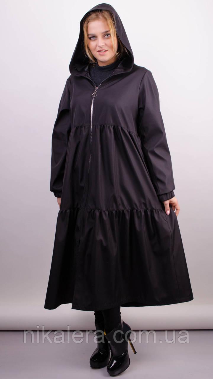 Модный плащ для пышных женщин  рр 50-68