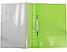 """Папка-скоросшиватель А4 Economix с перфорацией, фактура """"глянец"""", салатовая E31510-13, фото 2"""