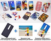 Печать на чехле для Nokia 6.1 Plus (X6) (Cиликон/TPU)