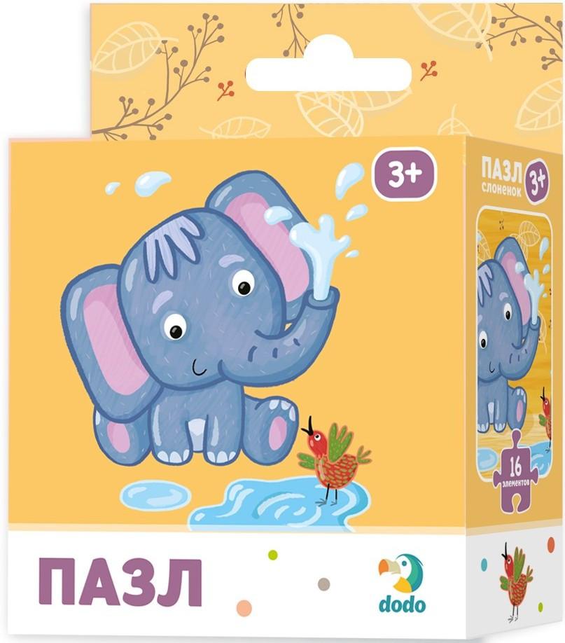 """Пазл """"Слоненя"""". Розвиваюча дитяча гра Dodo"""